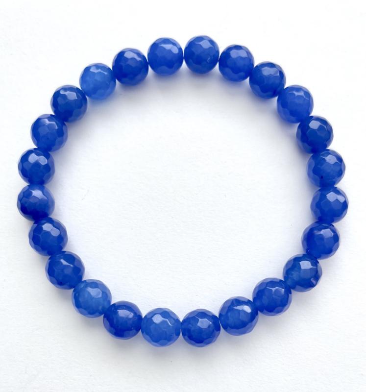 Chalcedoon blauw