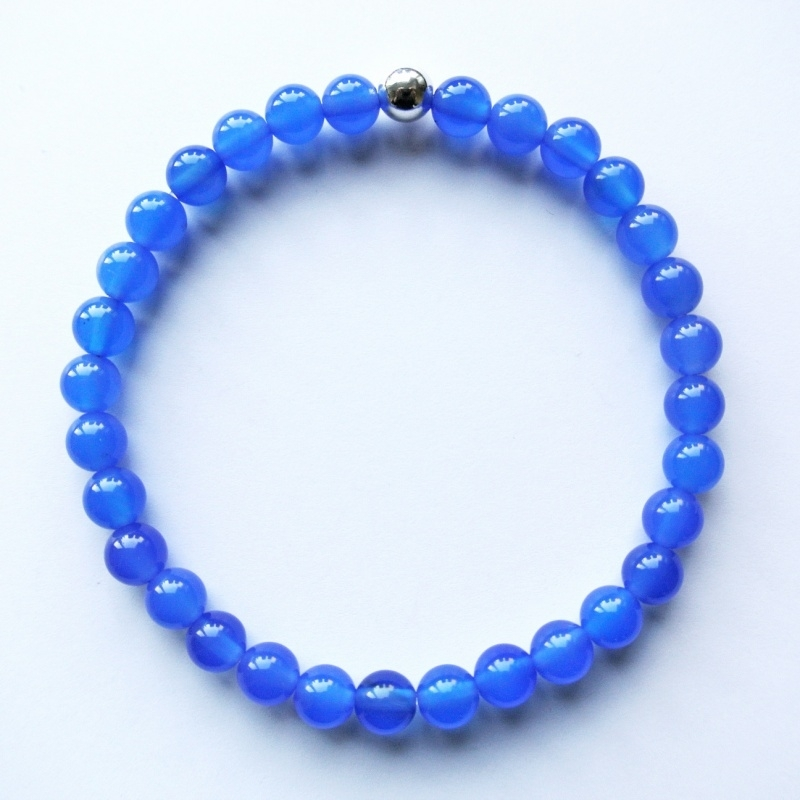 Agaat blauw