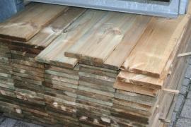 Tuinplank 20x200x4000 geschaafd