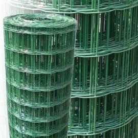 Tuingaas 102x51 mm Groen geplastif. 100cm hoog 10m lang