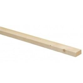 Balkje nieuw steigerhout 30x30x2500
