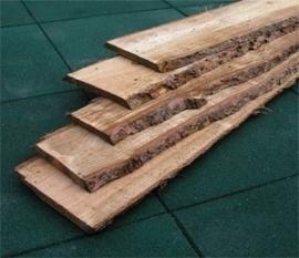 Plank Schaaldeel lariks douglas 2x 15/25 x 400cm  geimpregneerd