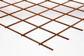 Betongaasmat 2x3m roestig 5mm