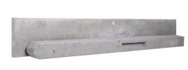 Beton paal met ronde kop ( grijs)