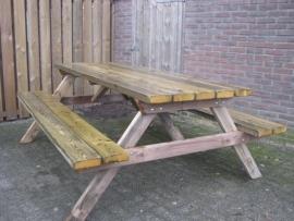 Picknicktafel overijsel 210cm