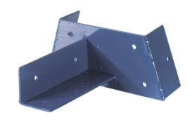 hoekverbinding vierkant  9x9 of 12x12 cm