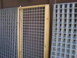 gaas paneel 180x45 met houten rand