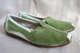 Groene slip-on - Mt. 38