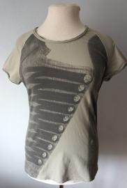 Grijs T-Shirt met print - Mt. XL