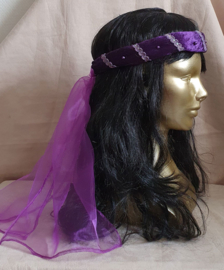 Paarse hoofdband