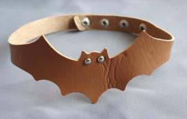 Halsband Vleermuis - Bruin