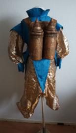 Blauw / gouden set KIDS -  3 delig