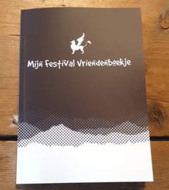 Festival vriendenboekje