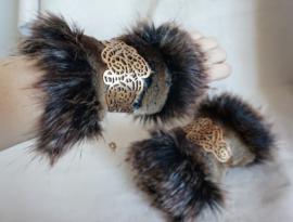 Polsband Fake Fur - Nr. 16