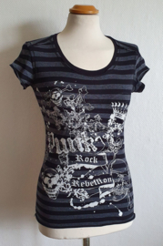 Top met print - Mt. XS