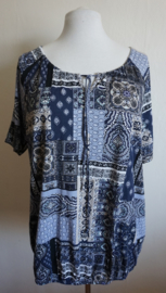 Top met print - Mt. XL