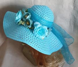 Bloemenhoed Blauw