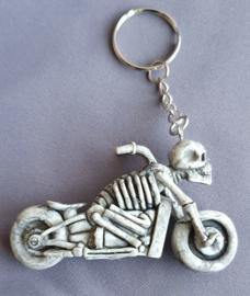 Sleutelhanger Skelet motor