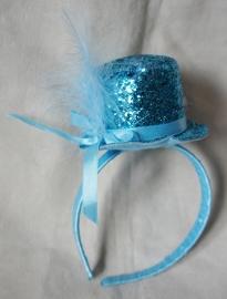 Diadeem - Blauw hoedje