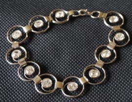 Armband - metalen cirkels