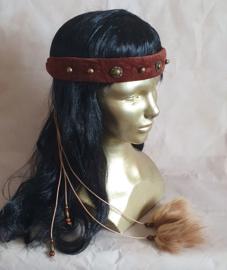 Roodbruine hoofdband - HF5
