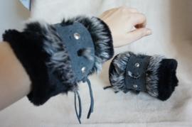 Polsband Fake Fur - Nr. 18