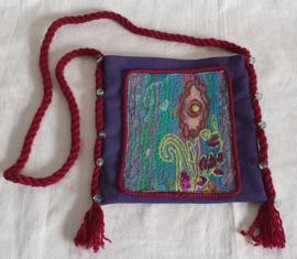 Handgemaakt schoudertasje - W2