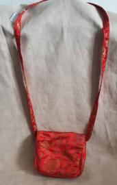 Rood chinees schoudertasje