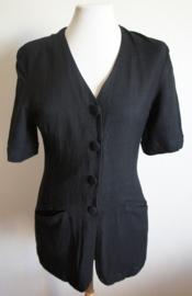 Zwarte blouse  - Mt. M