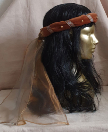 Roestbruine hoofdband