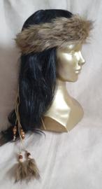 Fake-fur hoofdband - HB 10