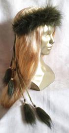 Fake-fur hoofdband - HB 1
