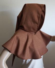 Bruine kaproen / schoudercape