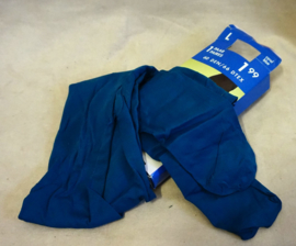 Blauwe panty - 60 denier