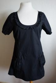 Zwart jurkje  - Mt. L