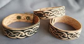 Lederlook armband keltisch