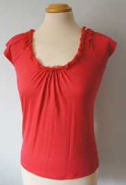 Roze/rood top - Mt. XS