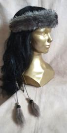Fake-fur hoofdband - HB 6