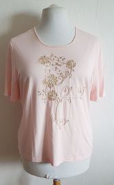Zacht roze T-shirt - Mt. L