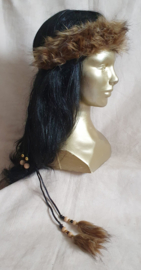 Fake-fur hoofdband - HB 9