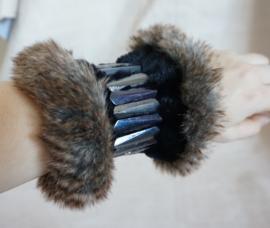 Polsband Fake Fur - Nr. 20