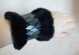 Polsband Fake Fur - Nr. 22