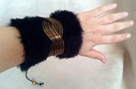 Polsband Fake Fur - Nr. 14