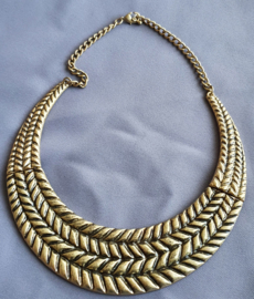 Bronskleurige ketting