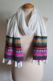 Creme sjaal