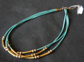 Aquablauwe ketting
