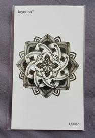 Plaktattoo - Mandala