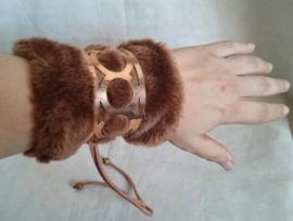 Polsband Fake Fur - Nr. 11