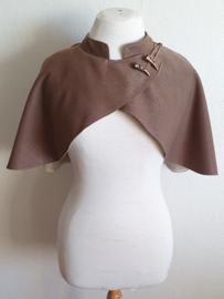 Bruine schoudercape
