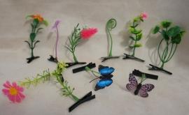 Haarklemmetjes Plant - Setje 5